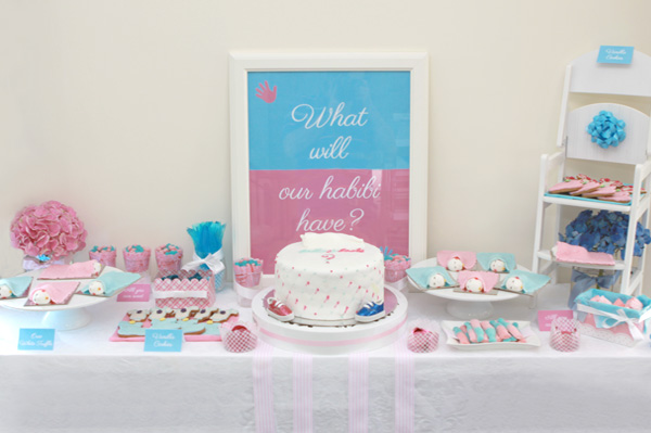 Baby gender reveal party (1/3)