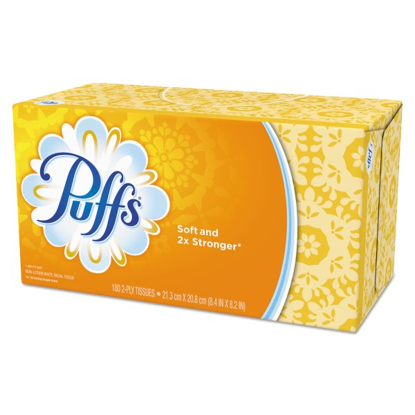 037000847366 UPC Puffs Basic Facial Tissues 180 Ct