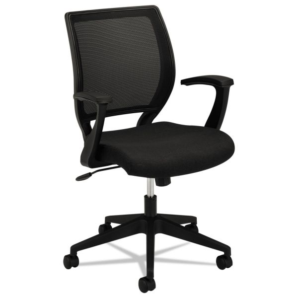 hon ignition 2 0 chair review steelcase think hvl521 mid back work mesh fabric seat black more images
