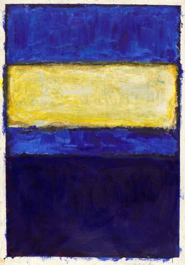 Mark Rothko. Untitled 1968.
