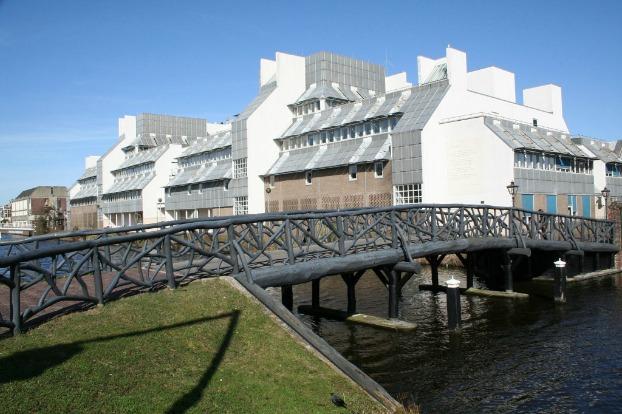 Rijksuniversiteit Leiden. Lipsiusgebouw.