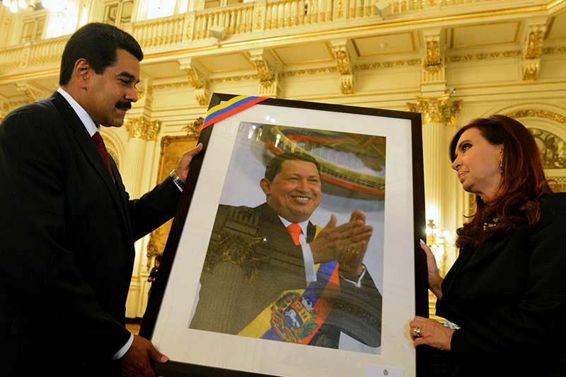 A MADURO NO LE GUSTAR ESTO Macri ordena retirar