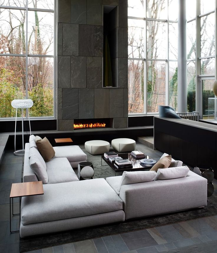 modern contemporary living room pictures long rooms with fireplaces what are the different styles lookbook included