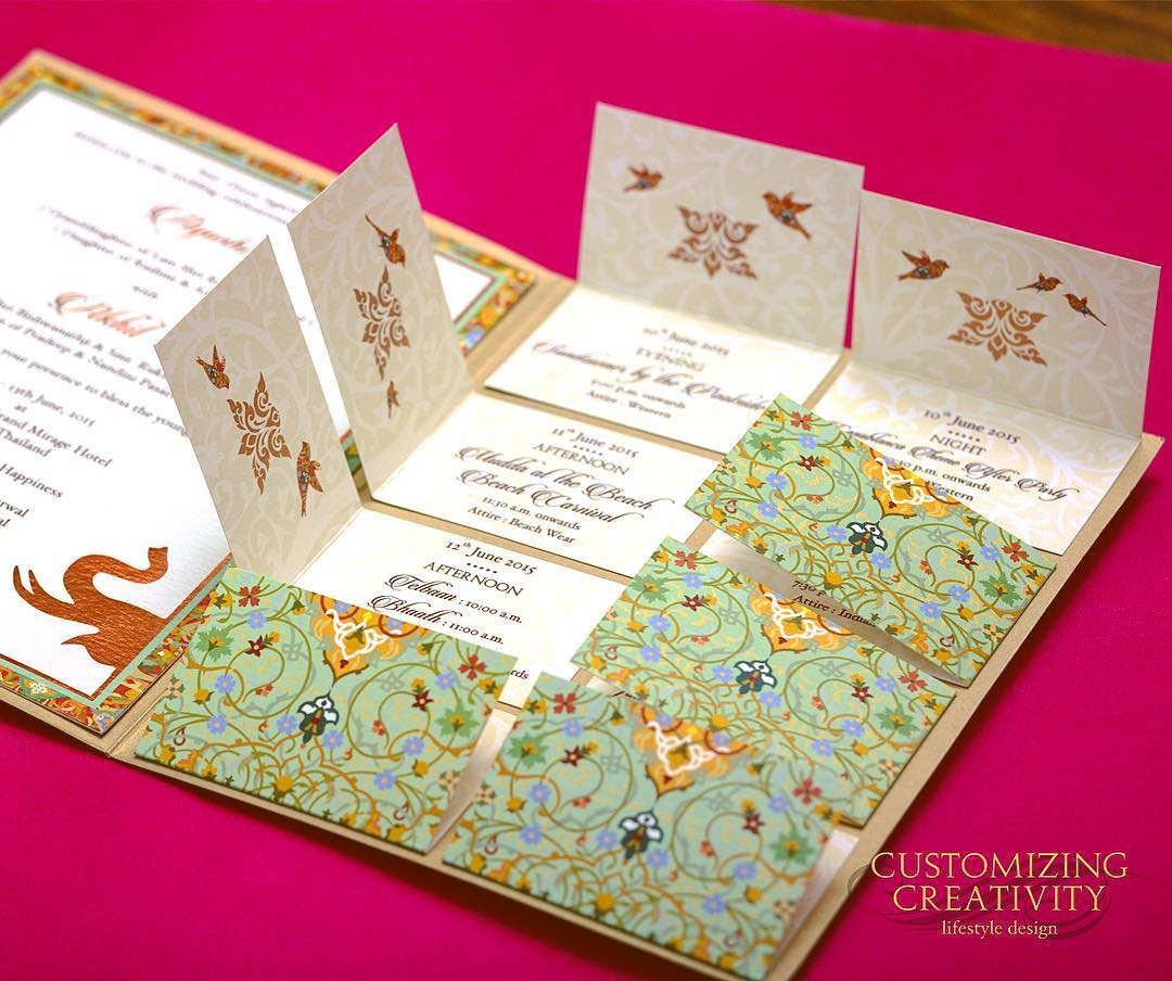 20 Unique  Creative Wedding Invitation Ideas for your