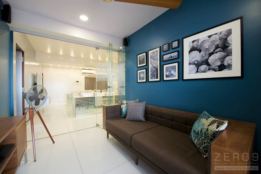 wall painting designs pictures for living room in india modern chic ideas 15 popular paint colours your indian home pick these dark blue