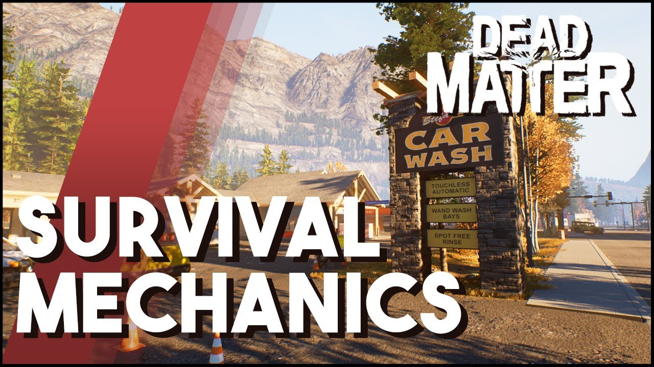 Dead Matter Update - Survival Mechanics