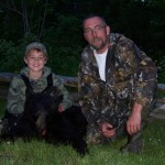Devin's first time going bear hunting with his dad