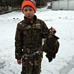 Tyler loves to hunt