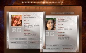 Darkest powers site