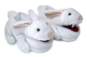 Myrnin's Famous Vampire Bunny Slippers