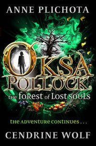The sequel - Oksa Pollock: The Forest of Lost Souls - will be out next February.