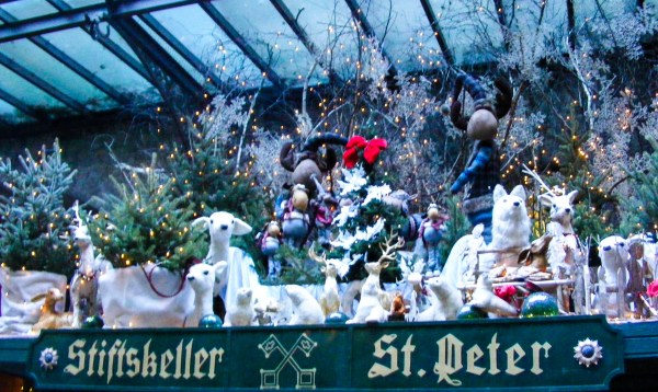 Wonderful Christmas Decorations in Salzburg.