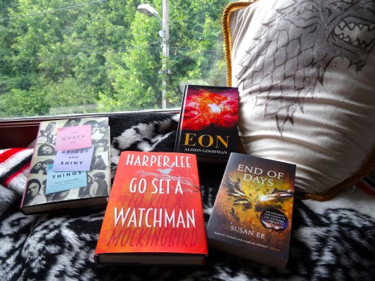July book haul 2