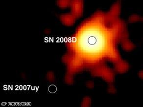 star supernova explode die