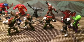 MIGHTY MAX FIGURES (3)