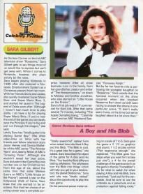 sara gilbert article