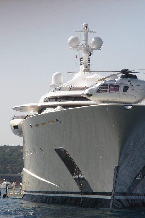 Helicopter Luxury Yacht