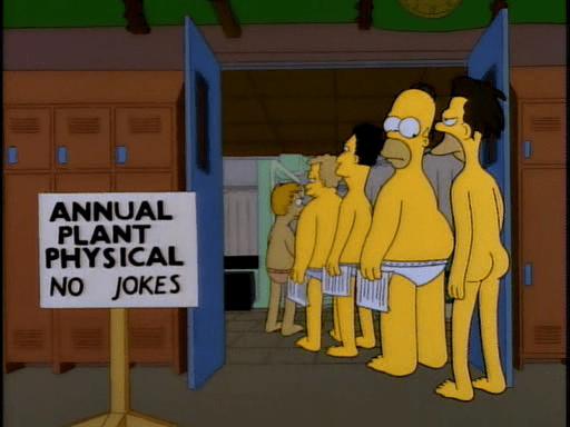 Simpsons Lenny BLOGTITLE