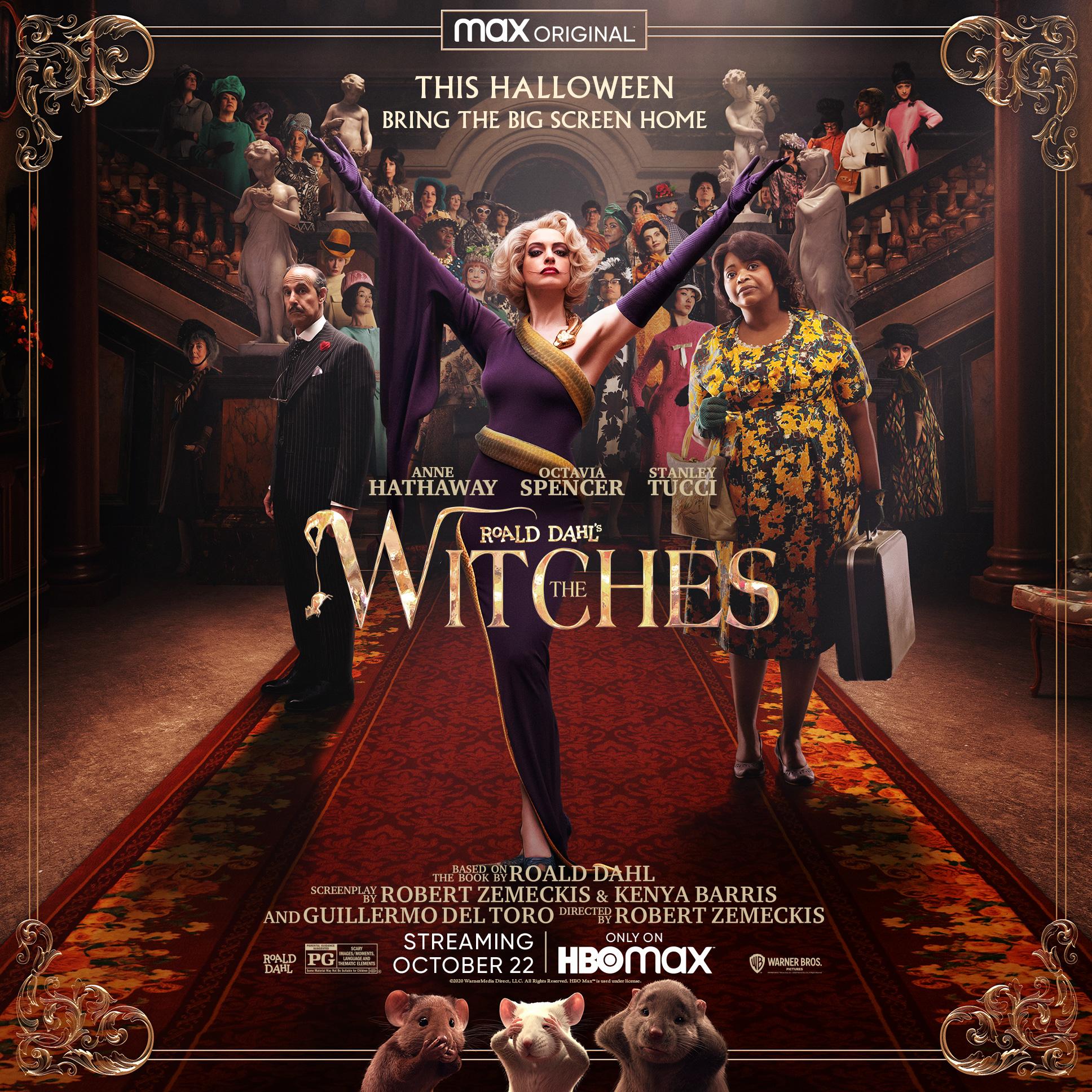 Le Film D Anne Hathaway Roald Dahl S The Witches Saute