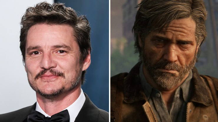 Pedro pascal joel the last of us serie