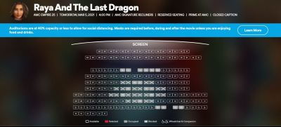 AMC Empire Raya And The Last Dragon
