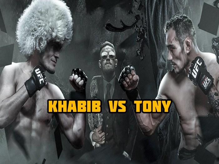KHABIB VS TONY: WILL THIS BE KHABIB'S DEFEAT?
