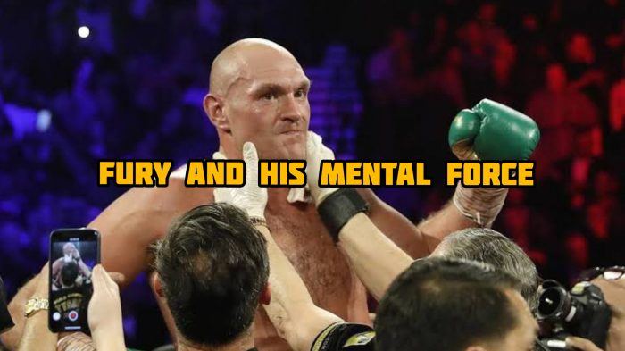 Tyson Fury last Sunday