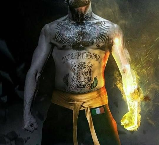 THE NOTORIOUS IRISH FIST