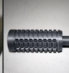 obi wan anh lightsaber 3d printed part 07 [ 2000 x 1139 Pixel ]