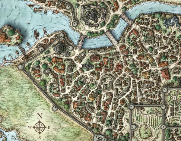 Neverwinter Map 5e - Year of Clean Water