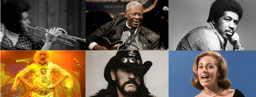 Musicians who died 2015