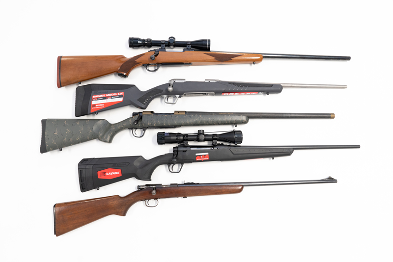 Bolt-Action Hunting Rifles