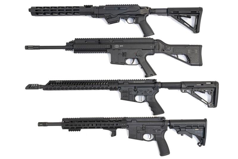 Semi-AutoTactical Rifles