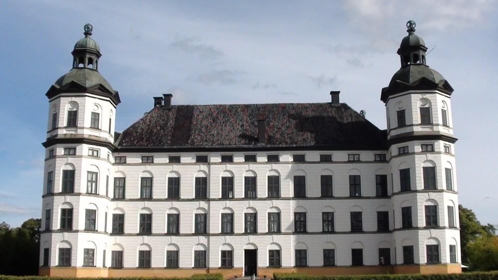 The Sky & Skokloster Slott (Skokloster Castle) Sweden. (1/5)