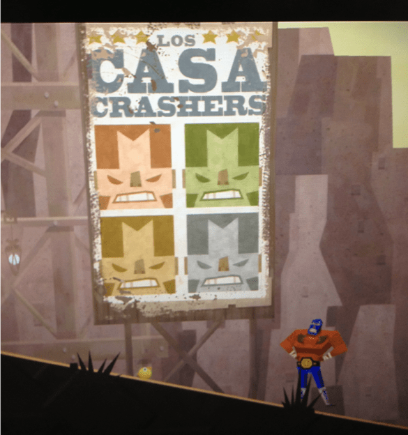 Castle Crashers in Guacamelee!