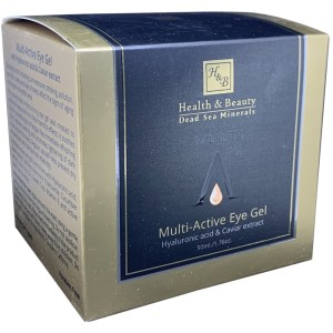 Multi Active Eye Gel with Hyaluronic Acid & Caviar Extract