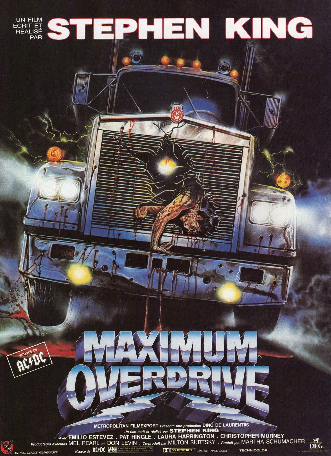 Risultati immagini per MAXIMUM OVERDRIVE ( 1986 )POSTER
