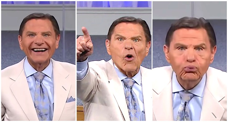 Televangelist Kenneth Copeland Spits the Wind of God on Covid-19 ...