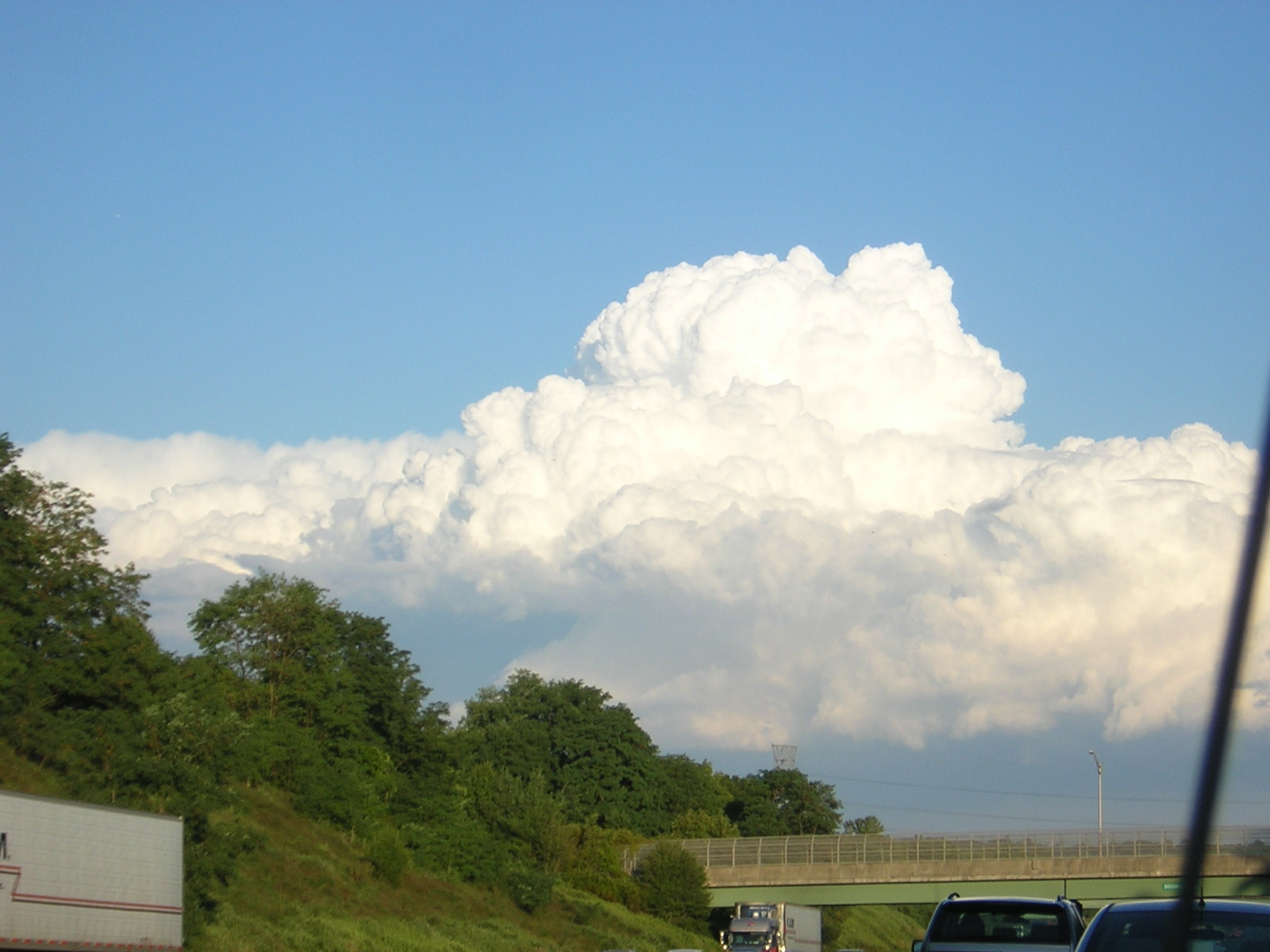 Clouds on the way into Deadstein 8-12-2008