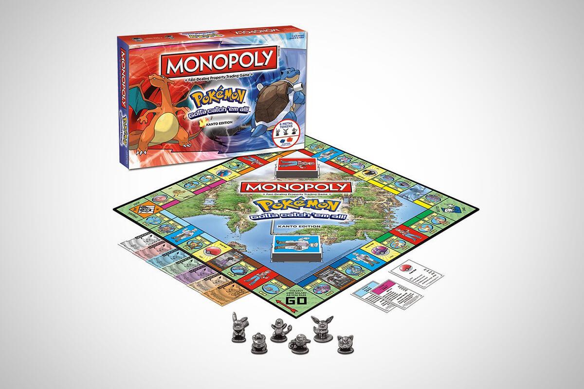 Pokémon Monopoly: Kanto Edition