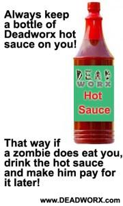 Deadworx Hot Sauce zombie apocalypse