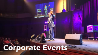 Learn why Sam is one America's premier entertainers, and inspirational Keynote speaker