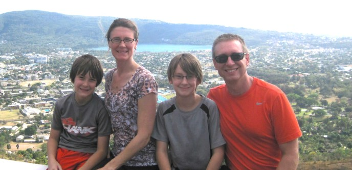 Andrew Svoboda Family in Jamaica