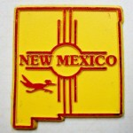 Classic New Mexico magnet