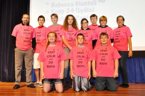 TSD Students Hit the Road to Complete in Mathematics Skills Challenge