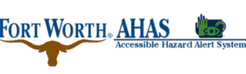 city of fort worth and deaflink ahas