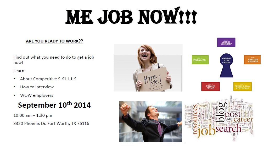 Find A Job Now Workshop For Assisting Deaf To Find Jobs DFW