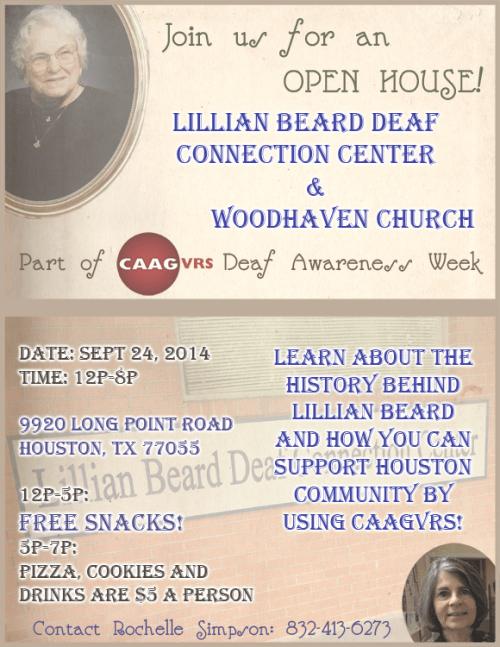 caagvrs lillian beard open house flyer