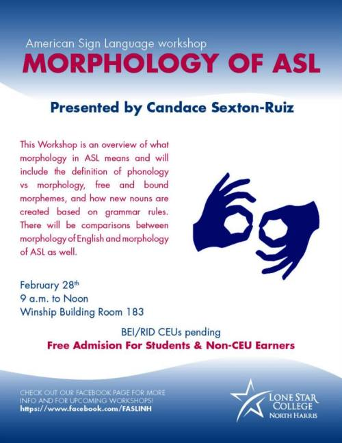 morphology of asl flyer