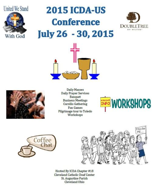 International Catholic Deaf Association 2015